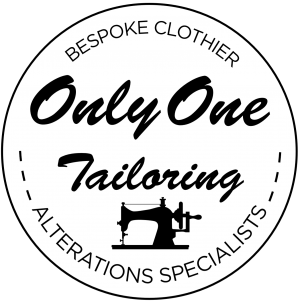 bespoke clothier and only one tailoring logo