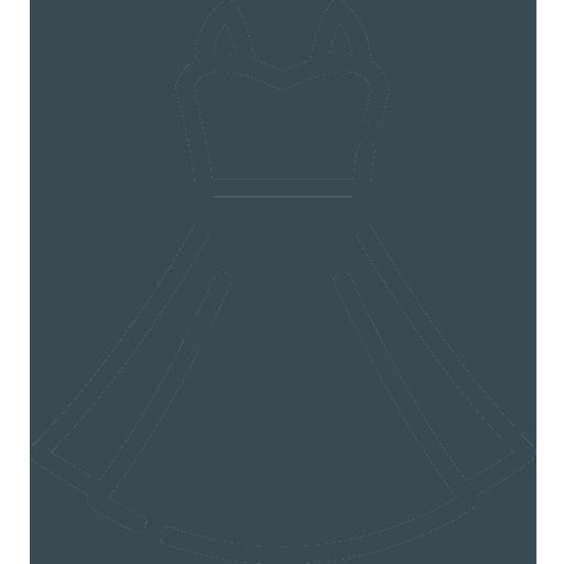 woman's dress icon