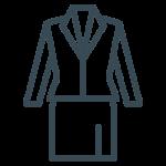 woman suit icon